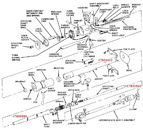 chevy truck steering column diagram 1994 chevy truck steering column diagram wiring diagram