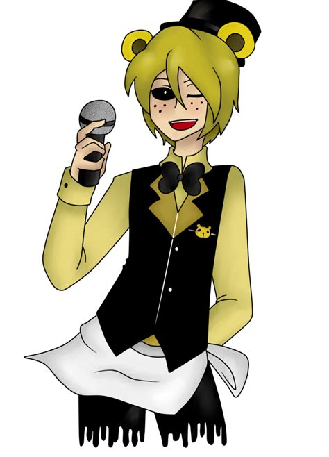 golden anime human freddy human teen fnaf x reader one shots golden freddy wattpad