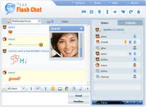 123 flash chat server by daniel jiang a realtime text