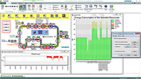 plant layout simulation software logistics and material flow simulation siemens plm software