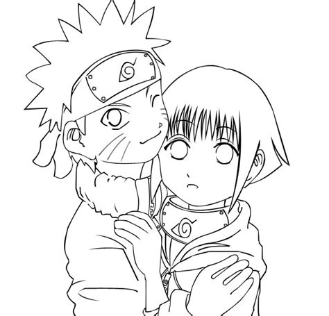 hinata color free printable coloring pages for