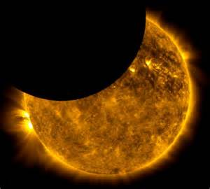 how does a solar eclipse last starts with a