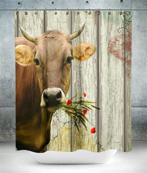 cow curtains 1000 ideas about farmhouse shower curtain on pinterest