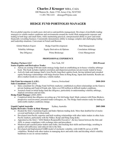 Investment Broker Sle Resume by Resume 20120518