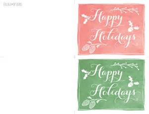 falala designs happy holidays mini cards