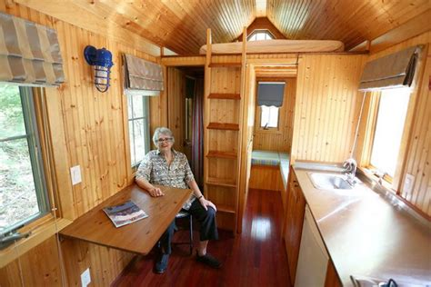 tiny table a visit with kathy tiny house pioneer the martha s