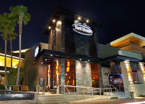 Las Vegas Red Rock Resort Locations Yard House Restaurant