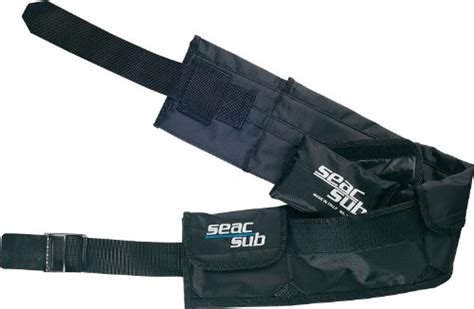 seac scuba diving belt with weight pockets large sporting goods water sports snorkeling belts