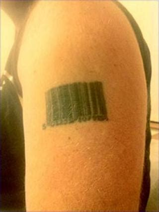 Barcode Tattoo Condom | tattoo remorse 25 of your most loathed or loved bbc news