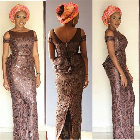 latest ashoebi lace styles 10 most beautiful latest aso ebi styles