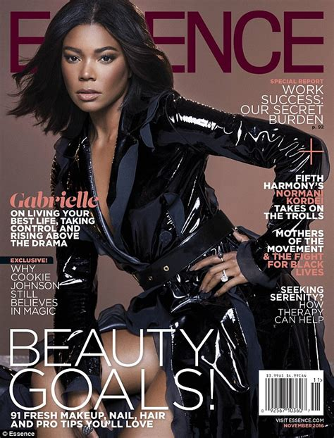 43 years old actress gabrielle union glitters in gold as she takes the plunge