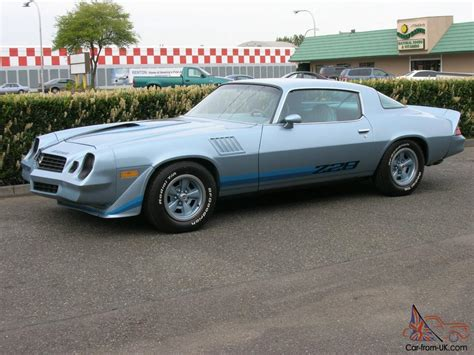 1979 chevrolet camaro z28 coupe 2 door 5 7l