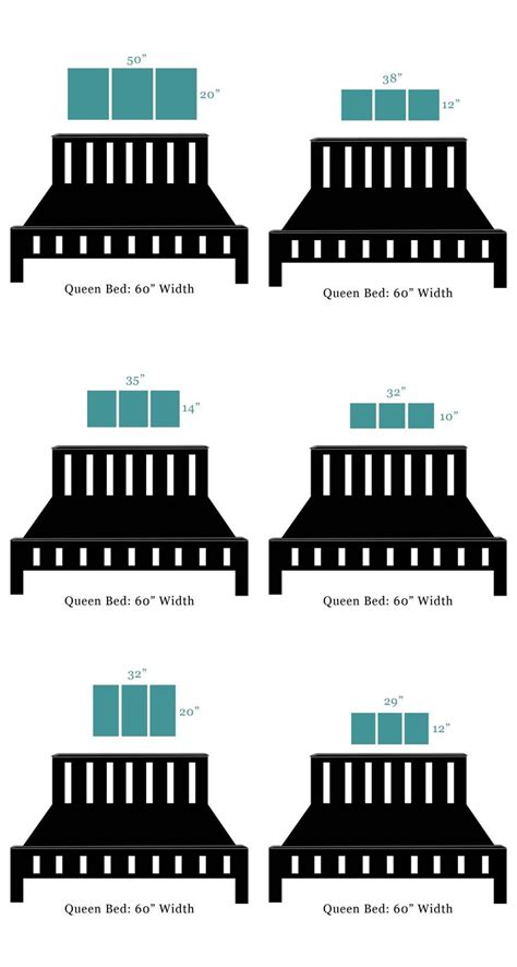bedroom dimensions for queen size bed 25 best ideas about art over bed on pinterest aztec