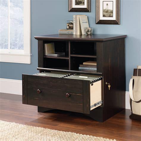 sauder harbor view file cabinet sauder orchard lateral file cabinet carolina oak