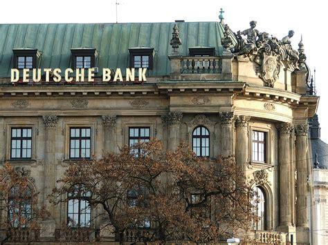 deutshce bank banking contribuisce a smascherare il falso in bilancio di