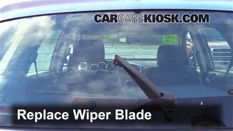 vehicle repair manual 2006 toyota matrix windshield wipe control rear wiper blade change toyota matrix 2003 2008 2006 toyota matrix 1 8l 4 cyl