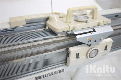 singer knitting machine iknitu singer ribber bed knitting machine