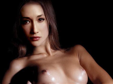 sexy maggie q nude tits