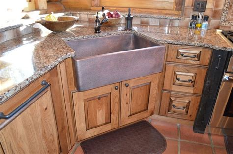 what is a farm sink when and how to add a copper farmhouse sink to a kitchen