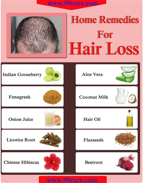 99cure 10 home remedies for hair loss