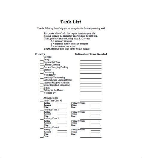 Prioritizing Tasks Template by Prioritizing Tasks Template Gallery Template Design Ideas