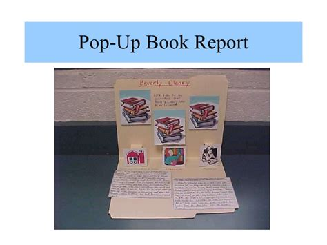 Book Report Project by Book Report Projects
