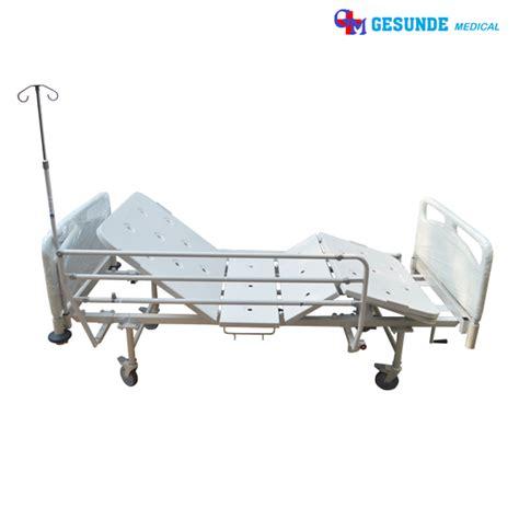 Ranjang Pasien 2 Engkol jual tempat tidur rumah sakit manual 2 engkol standar medis toko medis jual alat kesehatan