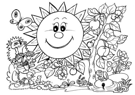 coloring pages spring pdf coloring pages spring coloring pages pdf coloringfit free
