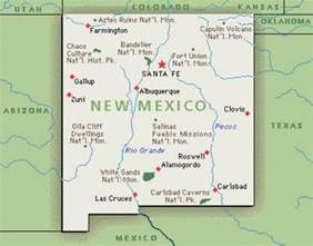 map of new mexico 10 interesting new mexico facts my interesting facts