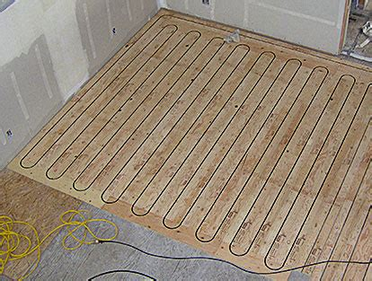 Radiant Floor Heat Panel by Radiant Heating Scurfield Solar And Heating