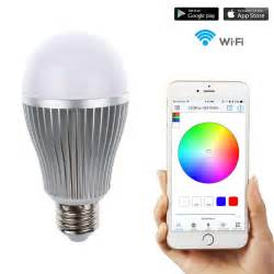 wifi lights 2 4g wifi android ios app remote led globe light