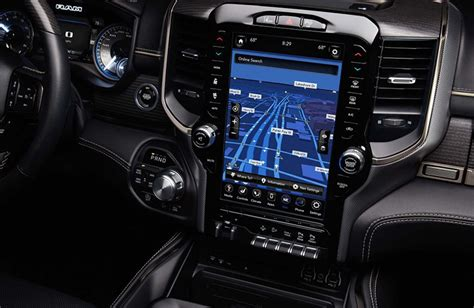 2019 Dodge Touch Screen by 2019 Ram 1500 Design Updates And New Features