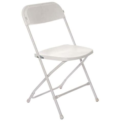 White Folding Chair by Chair White Folding Grand Rental Station