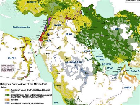 middle east map of religions iran is increasingly calling the for assad in syria