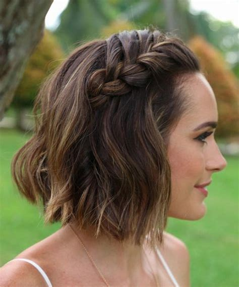 ways to style chin length thin hair super gorgeous chin length wedding hairstyles 2017 love
