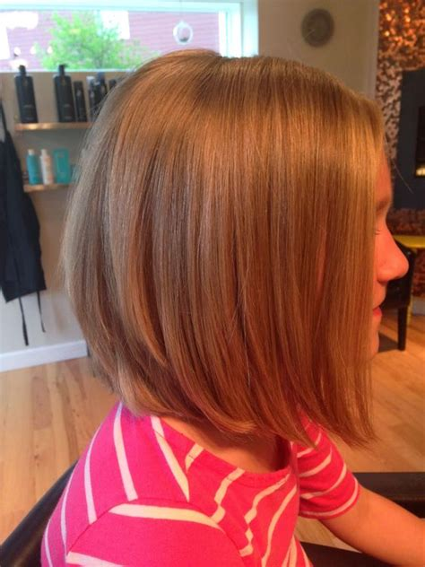 long bobs on kids long bob on a little girl hair lock love pinterest