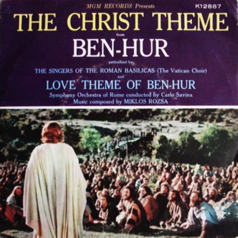 themes of identity in film film music site the christ theme from ben hur soundtrack