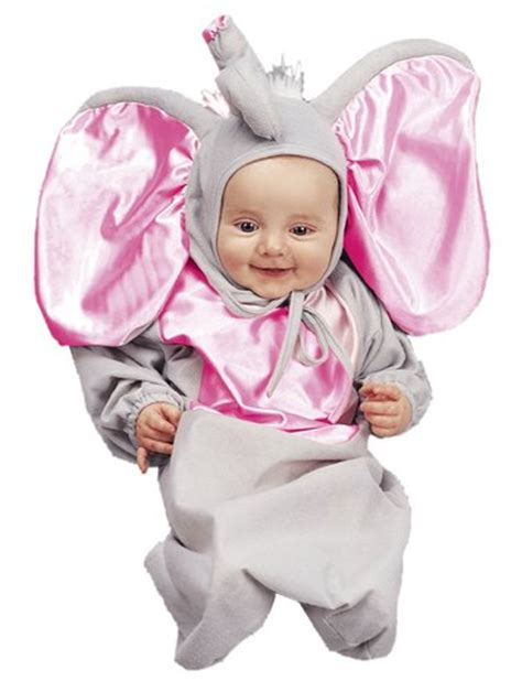 Sugar Baby Deluxe Baby Bathers Elephant newborn costume ideas webnuggetz