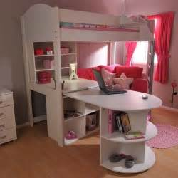 Pull Out Bunk Bed Loft Bed With Desk Stompa Casa 4 High Sleeper Bunk Bed With Pull Out Desk And Futon