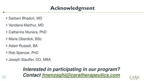 Do Md Phd Mba Programs Exist by Cara Therapeutics Cara Presents At Boston Biotech Ny Nj