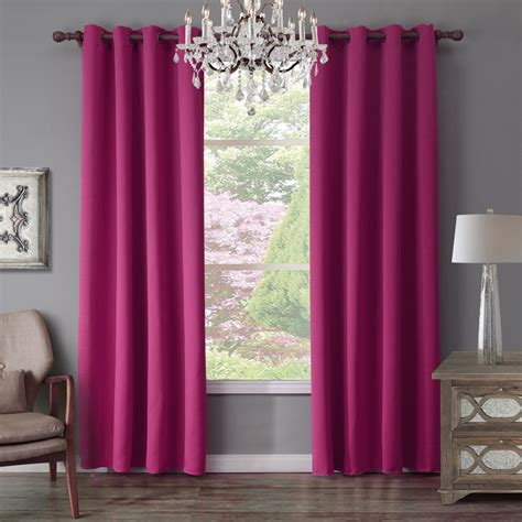 black out window panels dark purple bedroom curtains with sunnyrain 1 piece green curtain for living room blackout