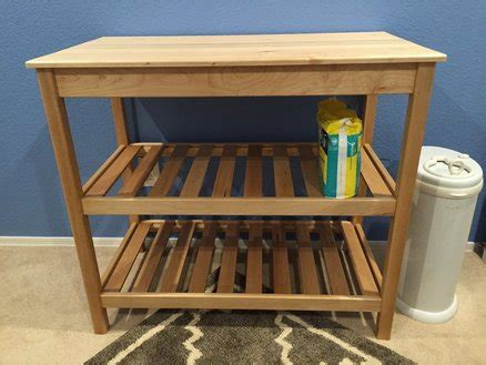 Maple Changing Table By Mikeaz Lumberjocks Com Maple Changing Table