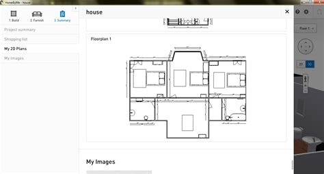 2d Floor Plan Software | free floor plan software homebyme review