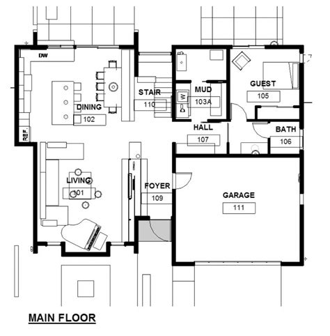 Residential Home Plans Residential House Architectural Plans House Design Plans