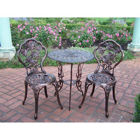 great 3 piece patio furniture rose 3 piece bistro patio