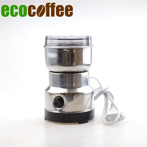 Stainless Steel Electric Coffee Grinder Aliexpress Buy Free Shipping High Quality Stainless