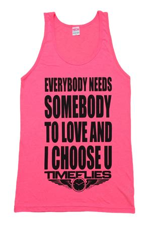 8 Things Everybody Needs To About Stds by I Choose You Tank Neon Pink Timeflies Tees