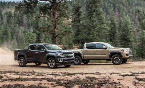 Toyota Of Colorado 2015 Chevrolet Colorado Lt Crew Cab 4wd Vs 2016 Toyota