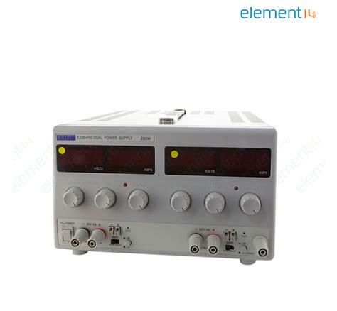 dual output bench power supply ex354rd aim tti instruments dual output dc bench power