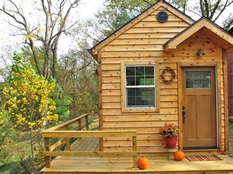 tiny house cabin tiny house on or off wheels as a writing cabin